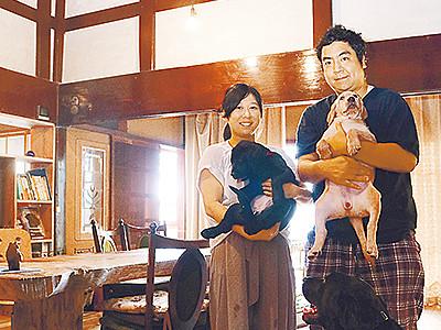 古民家で犬と宿泊OK 砺波「望頼山荘」25日内覧会