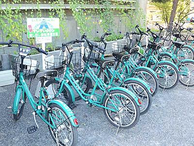 自転車、借りた場所以外で返せます 松本市、19年4月から
