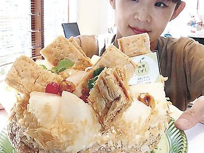 県産ナシ「加賀しずく」でスイーツ 石川県内7店でフェア