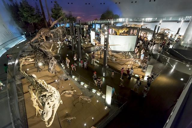 福井県勝山市にある県立恐竜博物館