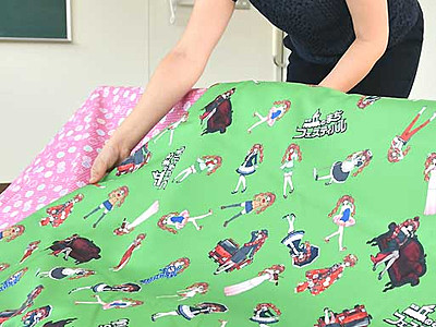 ナミキちゃん題材、裁縫作品応募して 11月に飯田「丘フェス」