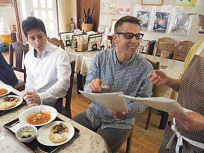 ハンガリー料理、生坂で研究 新設「道の駅」で提供へ
