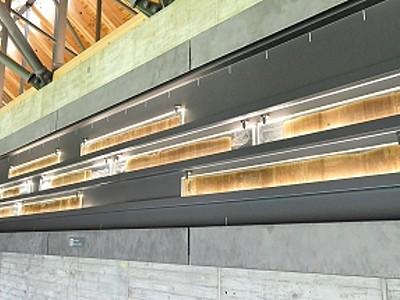 年縞7万年分45メートル 福井・若狭町に博物館