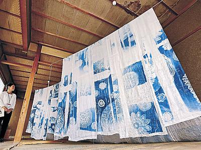 町中に現代アート 「変容する家」きょう開幕