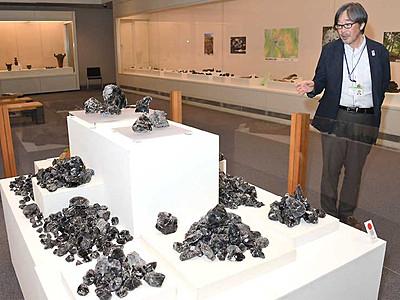 黒曜石の活用や流通紹介 千曲の県立歴史館が企画展