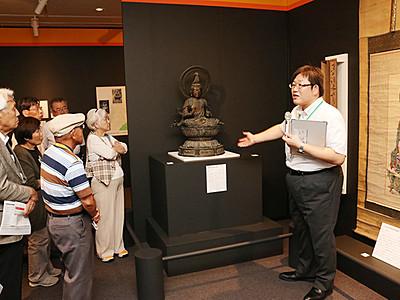 明治期に散逸、仏像展示 立山博物館で企画展