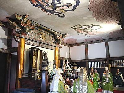 小松姫の霊廟、きれいに 松代・大英寺で開眼法要