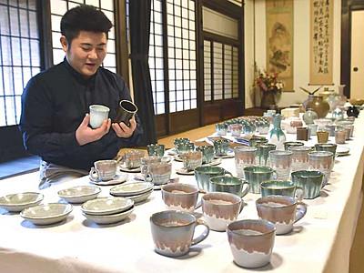 「高遠焼」陶芸家、伊那で作品紹介 桜の名所イメージ