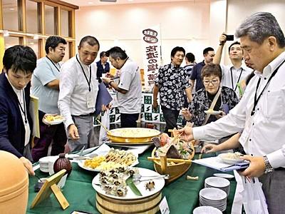 食材PR作戦サドメシラン5年 新潟県内外に広がり 佐渡