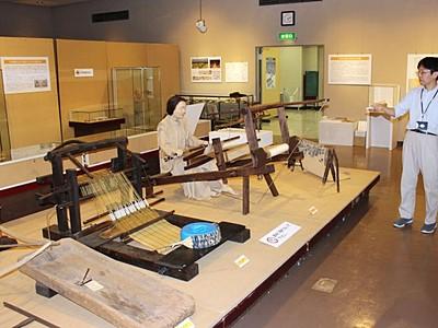 古代の暮らし出土品で紹介 機織り道具など展示 十日町