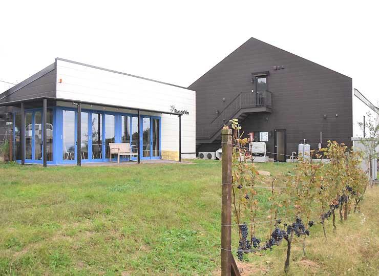 「ワインウオーク」で訪れるワイナリー「リュードヴァン」