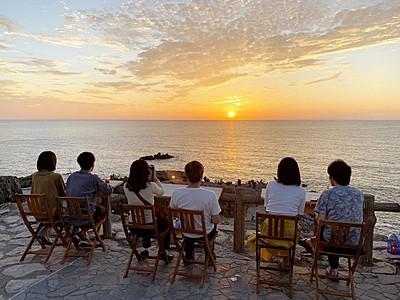 夕日眺めながら格別の一杯を 坂井市で土日祝限定イベント