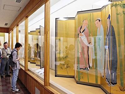 尾竹3兄弟など 地域ゆかりの画家作品展示 新潟市西蒲区