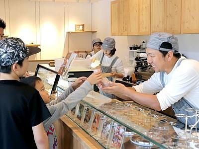 ガンジー牛乳、長岡市和島に4年ぶり直営店