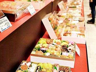 豪勢なお重、おせち売り場開設 西武福井店で年末年始商戦