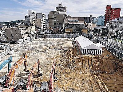 近江町市場の複合商業施設、20年4月開業へ起工