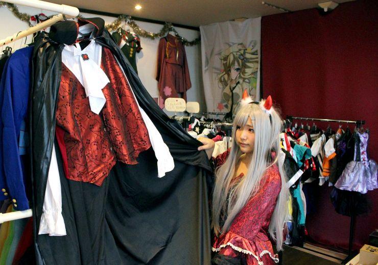多彩なコスプレ衣装を取り扱う専門店サブリナ=上越市