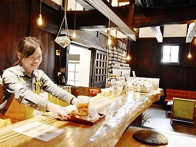 蔵改装カフェ、若者集まって 健康こだわり、福井県若狭町
