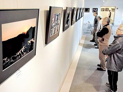 「光」テーマに風景や人物活写 鯖江市文化の館で作品展