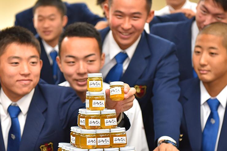 「TOMI SHOP」で販売する蜂蜜「富商恋人(ハニー)」