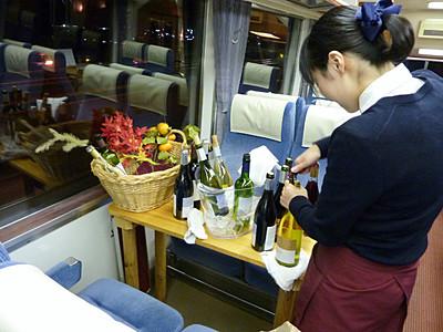 ワイントレイン今年も、長野電鉄 12月まで10回
