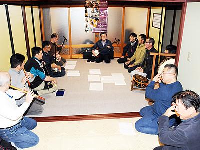 城端庵唄、神楽坂(東京)で披露へ 東下町の若連中