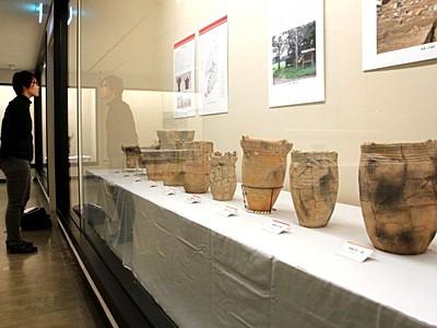縄文人の暮らし間近に 佐渡博物館で「遺跡展」