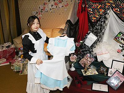 ロリータもパンクも 好きな服でカモン!18日、石動駅前でフリマ