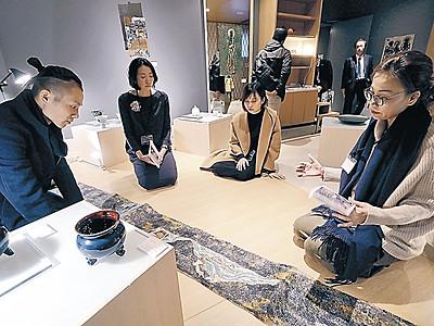 「暮らし豊かに」工芸提案 金沢でアートフェア開幕