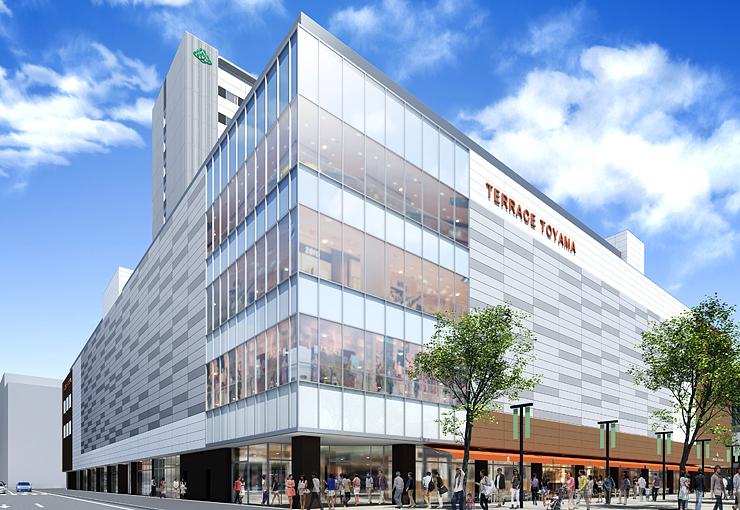 南西街区に建設される複合ビルのイメージ
