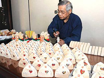 平成最後は「亥」 新年の主役作り、南木曽で最盛期