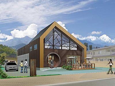 大町のブルワリー、地ビールは「氷河」 19年7月から本格稼動へ