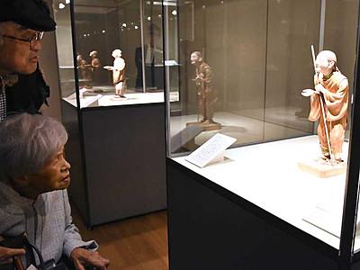 お話しながら作品鑑賞を 松本市美術館がトークフリーデー