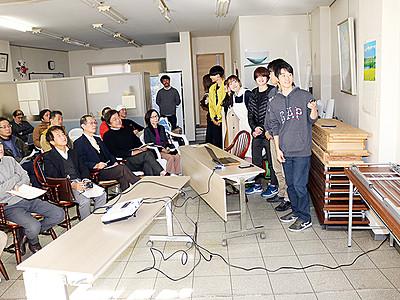 屋上マーケットいかが 富山大生が魚津の中央通り活性化策