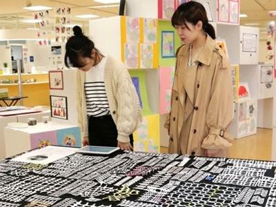 障害者アート6施設で展示 自由な発想を形に 長岡