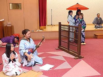 三遠南信の歌舞伎交流大会 下條開催に演目復活へ稽古