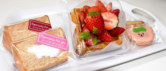 「くだものがかり」と菓子店が共同で開発したイチゴスイーツ3品