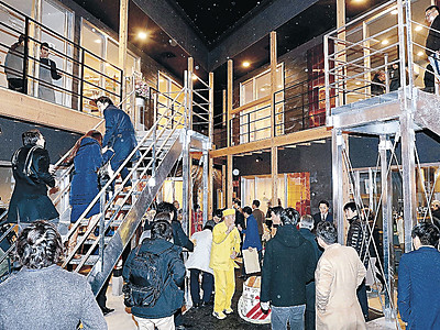 屋台村で創業第一歩 金沢JCが企画 片町で「1期生」8店舗