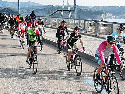 来春の富山湾岸サイクリング4月14日 1月から参加募集