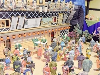 紙漉き本場で和紙人形展 福井県越前市、全国19作家