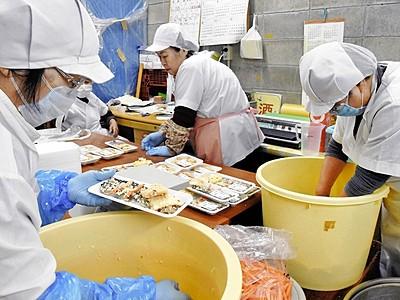 正月彩るにしんずし製造ピーク 福井県敦賀市の伝承料理