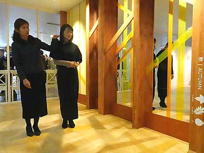 志賀高原の木漏れ日イメージ 「山の駅」改装オープン