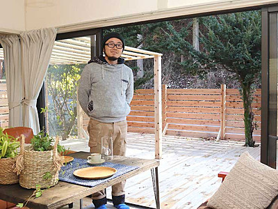 「便利な田舎」に貸し切り宿 長野・若穂保科の空き家改修