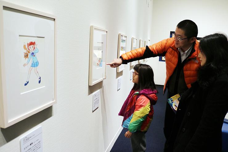 藤子・Fさんの作品が並ぶ会場((C)藤子プロ)=藤子・F・不二雄ふるさとギャラリー