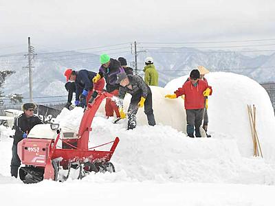 「レストランかまくら村」開設へ 飯山の「応援隊」準備