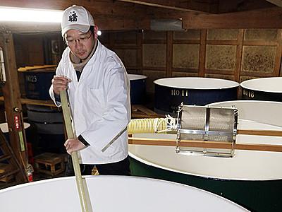新酒仕込み最盛期 氷見の高澤酒造場