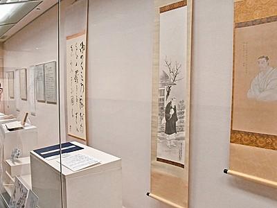 橘曙覧の歌から江戸の老い迫る 福井市記念文学館で企画展