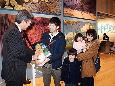 来場者10万人突破 富山、ジブリの大博覧会