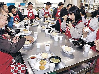加賀産ブロッコリー新メニュー 商品化目指し試食会