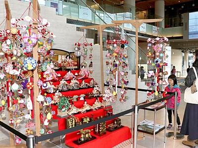 福岡・柳川伝統のつるし雛「さげもん」 新潟3カ所で展示